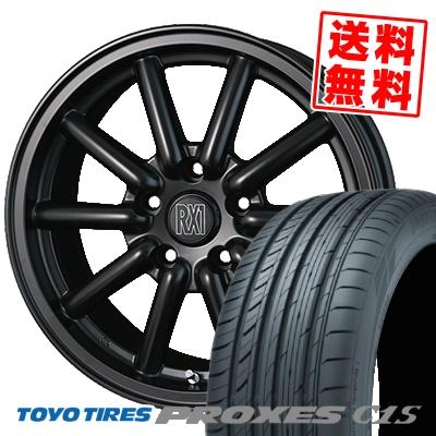 16インチ TOYO TIRES トーヨー タイヤ PROXES C1S プロクセス 205 55 サマータイヤホイール4本セット 205-55-16 OUTLET SALE サマーホイールセット 16 取付対象 RX1 メーカー再生品 Fenice フェニーチェ 55R16