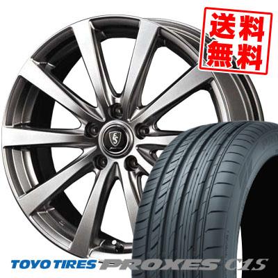 225/55R16 99W TOYO TIRES トーヨー タイヤ PROXES C1S プロクセスC1S Euro Speed G10 ユーロスピード G10 サマータイヤホイール4本セット