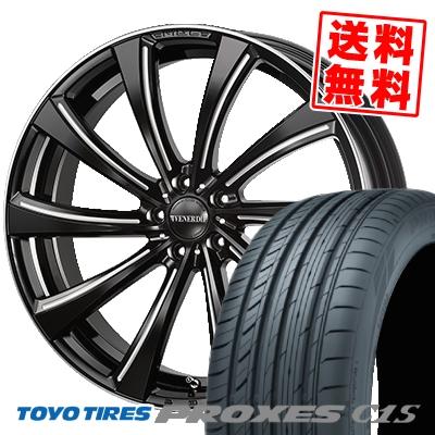 255/30R21 TOYO TIRES トーヨー タイヤ PROXES C1S プロクセスC1S VENERDi MADELENA GIRARE ヴェネルディ マデリーナ ジラーレ サマータイヤホイール4本セット