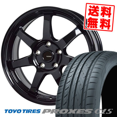 205/65R15 94V TOYO TIRES トーヨー タイヤ PROXES C1S プロクセス C1S G.speed G-03 Gスピード G-03 サマータイヤホイール4本セット