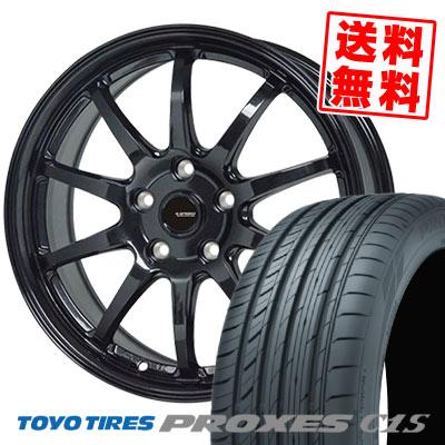 205/65R16 95W TOYO TIRES トーヨー タイヤ PROXES C1S プロクセス C1S G.speed G-04 Gスピード G-04 サマータイヤホイール4本セット【取付対象】