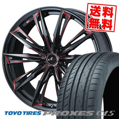 245/45R19 102W XL TOYO TIRES トーヨー タイヤ PROXES C1S プロクセスC1S WEDS LEONIS GX ウェッズ レオニス GX サマータイヤホイール4本セット