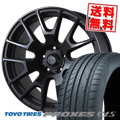 235/50R18 TOYO TIRES トーヨー タイヤ PROXES C1S プロクセス C1S IGNITE XTRACK イグナイト エクストラック サマータイヤホイール4本セット