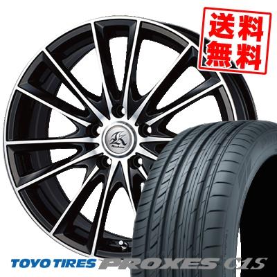 18インチ TOYO TIRES トーヨー タイヤ PROXES SEAL限定商品 C1S プロクセスC1S 245 45 245-45-18 サマーホイールセット カシーナ 取付対象 45R18 18 サマータイヤホイール4本セット Kashina 初回限定 FV7