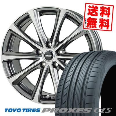 205/65R15 94V TOYO TIRES トーヨー タイヤ PROXES C1S プロクセス C1S Laffite LE-04 ラフィット LE-04 サマータイヤホイール4本セット