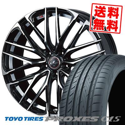 215/65R15 96V TOYO TIRES トーヨー タイヤ PROXES C1S プロクセス C1S WEDS LEONIS SK ウェッズ レオニス SK サマータイヤホイール4本セット