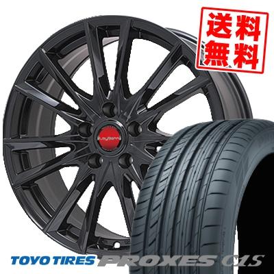 225/45R17 TOYO TIRES トーヨー タイヤ PROXES C1S プロクセスC1S LeyBahn GBX レイバーン GBX サマータイヤホイール4本セット