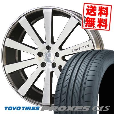 245/35R20 TOYO TIRES トーヨー タイヤ PROXES C1S プロクセスC1S Lowenhart LW10 レーベンハート LW10 サマータイヤホイール4本セット