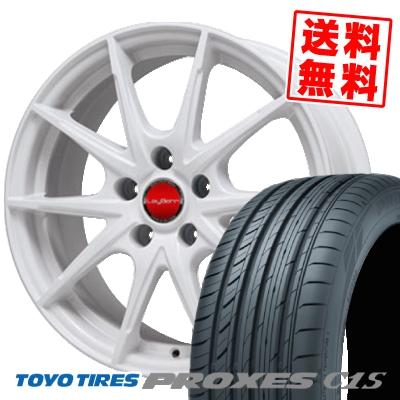 205/65R16 TOYO TIRES トーヨー タイヤ PROXES C1S プロクセス C1S LeyBahn WGS レイバーン WGS サマータイヤホイール4本セット