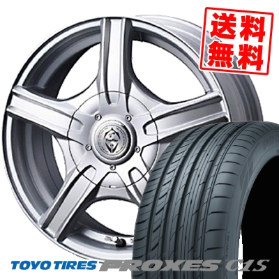 205/65R15 TOYO TIRES トーヨータイヤ PROXES C1S プロクセス C1S Treffer MH トレファーMH サマータイヤホイール4本セット