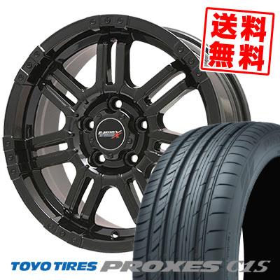 225/60R16 98W TOYO TIRES トーヨー タイヤ PROXES C1S プロクセスC1S B-MUD X Bマッド エックス サマータイヤホイール4本セット