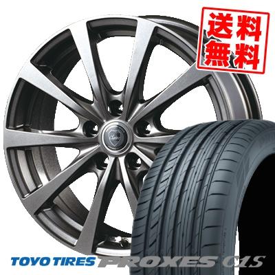 245/45R17 99W TOYO TIRES トーヨー タイヤ PROXES C1S プロクセスC1S CLAIRE RG10 クレール RG10 サマータイヤホイール4本セット