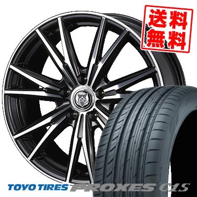 215/65R15 96V TOYO TIRES トーヨー タイヤ PROXES C1S プロクセス C1S WEDS RIZLEY DK ウェッズ ライツレーDK サマータイヤホイール4本セット
