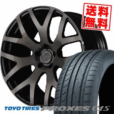 225/45R18 95W TOYO TIRES トーヨー タイヤ PROXES C1S プロクセス C1S RAYS WALTZ FORGED S7 レイズ ヴァルツ フォージド S7 サマータイヤホイール4本セット【取付対象】