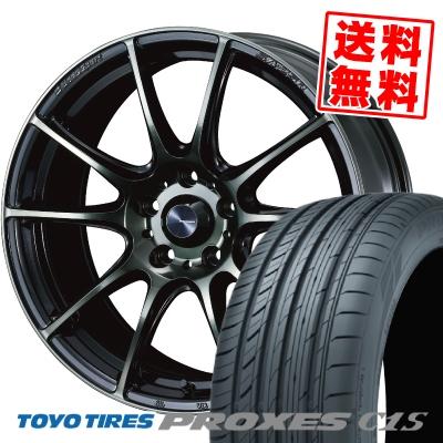 215/55R16 97W TOYO TIRES トーヨー タイヤ PROXES C1S プロクセス C1S WedsSport SA-25R ウェッズスポーツ SA-25R サマータイヤホイール4本セット【取付対象】
