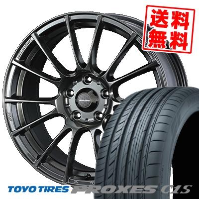 225/60R16 TOYO TIRES トーヨー タイヤ PROXES C1S プロクセスC1S WedsSport SA-72R ウェッズスポーツ SA-72R サマータイヤホイール4本セット【取付対象】