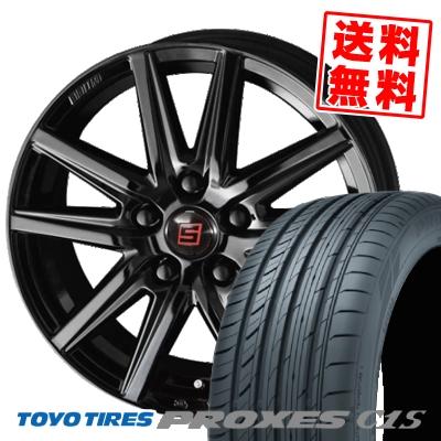 205/55R16 94W TOYO TIRES トーヨー タイヤ PROXES C1S プロクセス C1S SEIN SS BLACK EDITION ザイン エスエス ブラックエディション サマータイヤホイール4本セット