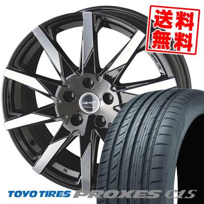 215/45R17 91W TOYO TIRES トーヨー タイヤ PROXES C1S プロクセス C1S SMACK SFIDA スマック スフィーダ サマータイヤホイール4本セット