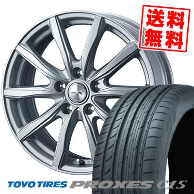 205/65R15 94V TOYO TIRES トーヨー タイヤ PROXES C1S プロクセス C1S JOKER SHAKE ジョーカー シェイク サマータイヤホイール4本セット