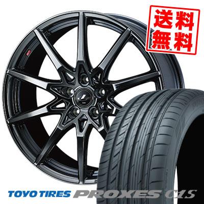 225/40R19 93W XL TOYO TIRES トーヨー タイヤ PROXES C1S プロクセスC1S weds LEONIS SV ウェッズ レオニス SV サマータイヤホイール4本セット