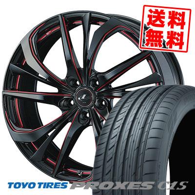 245/40R19 98W TOYO TIRES トーヨー タイヤ PROXES C1S プロクセスC1S weds LEONIS TE ウェッズ レオニス TE サマータイヤホイール4本セット