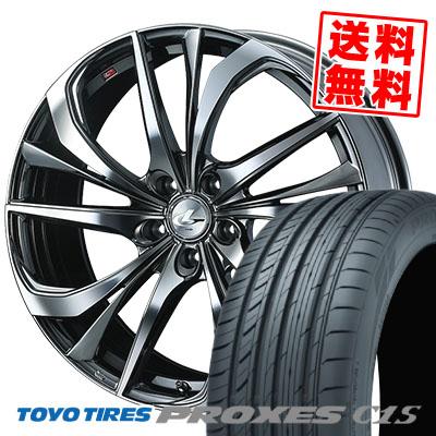 245/45R19 102W XL TOYO TIRES トーヨー タイヤ PROXES C1S プロクセスC1S weds LEONIS TE ウェッズ レオニス TE サマータイヤホイール4本セット