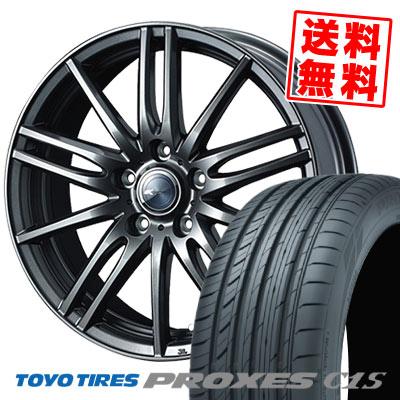 195/65R15 91V TOYO TIRES トーヨー タイヤ PROXES C1S プロクセス C1S Zamik Tito ザミック ティート サマータイヤホイール4本セット