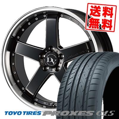 245 40R18 TOYO TIRES トーヨー タイヤ PROXES C1S プロクセスC1S DIAVOLETTO VALENTINA ディアヴォレット ヴァレンティーナ サマータイヤホイール4本セット