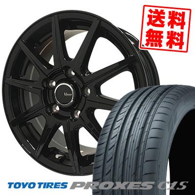 205/65R15 94V TOYO TIRES トーヨー タイヤ PROXES C1S プロクセス C1S V-EMOTION BR10 Vエモーション BR10 サマータイヤホイール4本セット