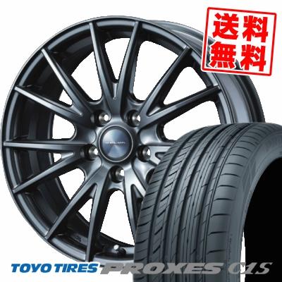 225/50R16 96W TOYO TIRES トーヨー タイヤ PROXES C1S プロクセスC1S VELVA SPORT ヴェルヴァ スポルト サマータイヤホイール4本セット