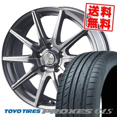 225/45R17 94W TOYO TIRES トーヨー タイヤ PROXES C1S プロクセスC1S V-EMOTION SR10 Vエモーション SR10 サマータイヤホイール4本セット