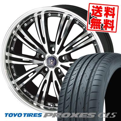 新作モデル 235/50R18 101W TOYO TIRES トーヨー タイヤ PROXES C1S プロクセス C1S STEINER WX5 シュタイナー WX5 サマータイヤホイール4本セット, 尼崎市 a32d534a