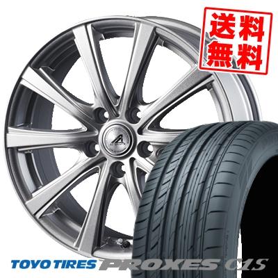 245/45R18 100W TOYO TIRES トーヨー タイヤ PROXES C1S プロクセスC1S AZ sports YL-10 AZスポーツ YL-10 サマータイヤホイール4本セット【取付対象】