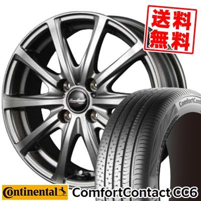 175/65R14 CONTINENTAL コンチネンタル ComfortContact CC6 コンフォートコンタクト CC6 EuroSpeed V25 ユーロスピード V25 サマータイヤホイール4本セット