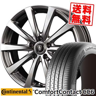 195/60R15 CONTINENTAL コンチネンタル ComfortContact CC6 コンフォートコンタクト CC6 Euro Speed G10 ユーロスピード G10 サマータイヤホイール4本セット