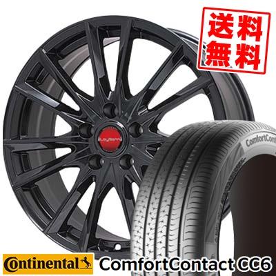 195/60R15 CONTINENTAL コンチネンタル ComfortContact CC6 コンフォートコンタクト CC6 LeyBahn GBX レイバーン GBX サマータイヤホイール4本セット
