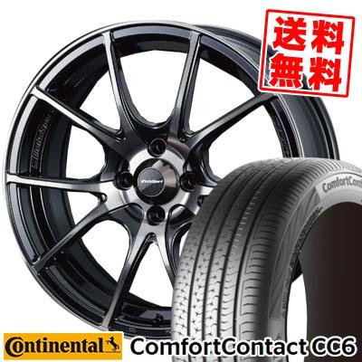 175/65R15 CONTINENTAL コンチネンタル ComfortContact CC6 コンフォートコンタクト CC6 wedsSport SA-10R ウエッズスポーツ SA10R サマータイヤホイール4本セット