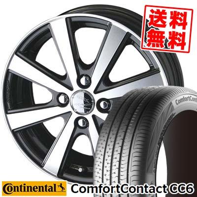 175/65R15 CONTINENTAL コンチネンタル ComfortContact CC6 コンフォートコンタクト CC6 SMACK VIR スマック VI-R サマータイヤホイール4本セット
