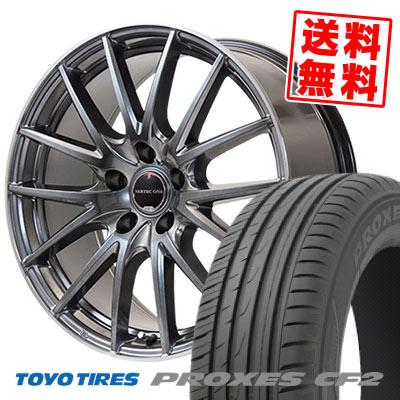 225/55R16 95V TOYO TIRES トーヨー タイヤ PROXES CF2 プロクセス CF2 VERTEC ONE Eins.1 ヴァーテック ワン アインス ワン サマータイヤホイール4本セット
