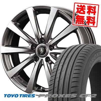 235/45R17 94V TOYO TIRES トーヨー タイヤ PROXES CF2 プロクセスCF2 Euro Speed G10 ユーロスピード G10 サマータイヤホイール4本セット