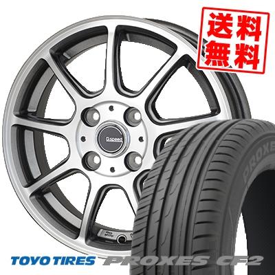 185/60R15 TOYO TIRES トーヨー タイヤ PROXES CF2 プロクセス CF2 G.Speed P-01 Gスピード P-01 サマータイヤホイール4本セット