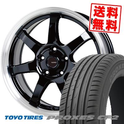 215/50R17 95V TOYO TIRES トーヨー タイヤ PROXES CF2 プロクセス CF2 G.speed P-03 ジースピード P-03 サマータイヤホイール4本セット