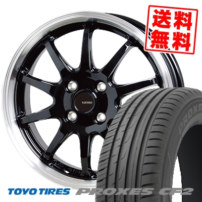 185/65R15 88H TOYO TIRES トーヨー タイヤ PROXES CF2 プロクセス CF2 G.speed P-04 ジースピード P-04 サマータイヤホイール4本セット