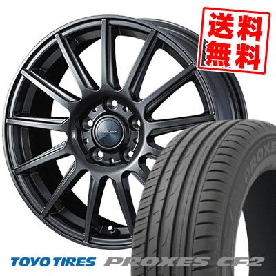 215/50R17 95V TOYO TIRES トーヨー タイヤ PROXES CF2 プロクセス CF2 VELVA IGOR ヴェルヴァ イゴール サマータイヤホイール4本セット