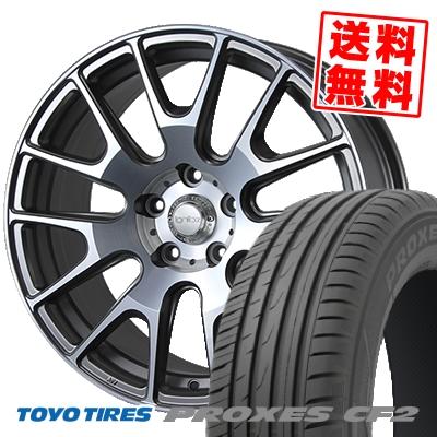 215/50R17 TOYO TIRES トーヨー タイヤ PROXES CF2 プロクセス CF2 IGNITE XTRACK イグナイト エクストラック サマータイヤホイール4本セット