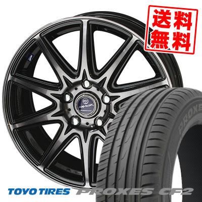 205/60R15 TOYO TIRES トーヨー タイヤ PROXES CF2 プロクセス CF2 SMACK LAVINE スマック ラヴィーネ サマータイヤホイール4本セット