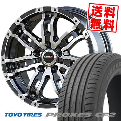 215/55R16 97V TOYO TIRES トーヨー タイヤ PROXES CF2 プロクセス CF2 B-MUD Z Bマッド ゼット サマータイヤホイール4本セット