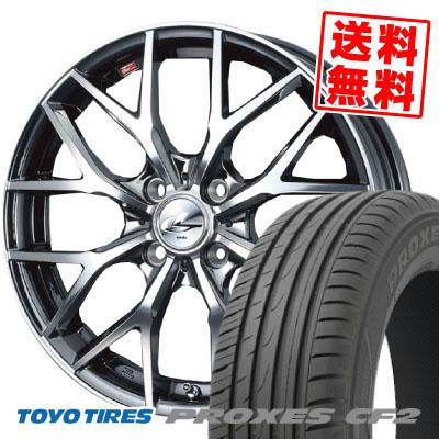 205/50R16 87V TOYO TIRES トーヨー タイヤ PROXES CF2 プロクセス CF2 weds LEONIS MX ウェッズ レオニス MX サマータイヤホイール4本セット
