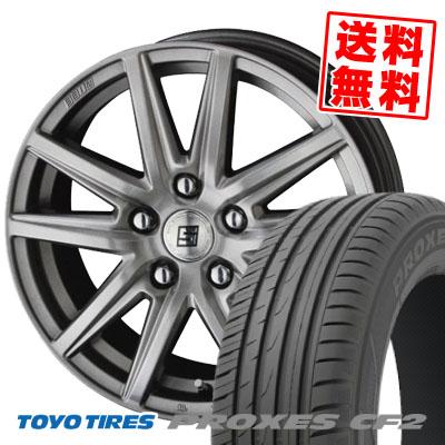 215/50R17 95V TOYO TIRES トーヨー タイヤ PROXES CF2 プロクセス CF2 SEIN SS ザイン エスエス サマータイヤホイール4本セット