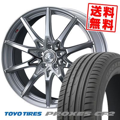 205/50R17 89V TOYO TIRES トーヨー タイヤ PROXES CF2 プロクセス CF2 weds LEONIS SV ウェッズ レオニス SV サマータイヤホイール4本セット